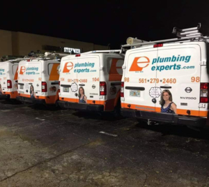 We have a fleet of  plumbing trucks with all plumbing parts that a home or business typically has issues with. Plumbing warehouse on wheels.