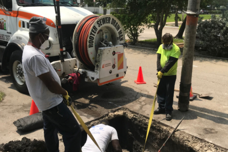 We repair all storm drains and french drain piping. We do baffle repair, cement work, grate replacement, sinkholes in parking lots, band repair. We do all storm drain repairs.l