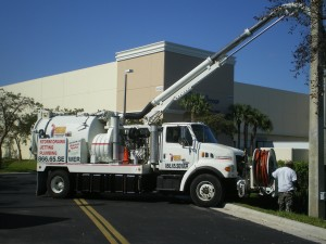 Vac Con Storm Drain Cleaning Truck